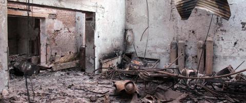 �nsker uavhengig granskning av sykehusbombing