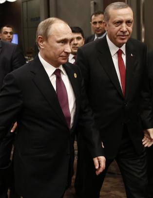 Putin ber Tyrkia si unnskyld. - Er det noen som m� si unnskyld, er det Russland