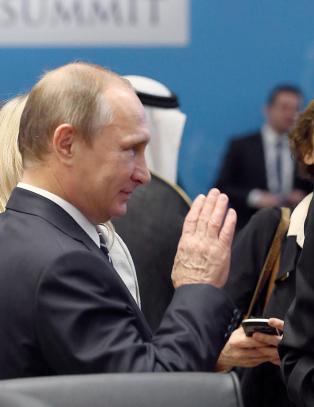 Putin og Russland er klare til � samarbeide med USA for � kjempe mot IS