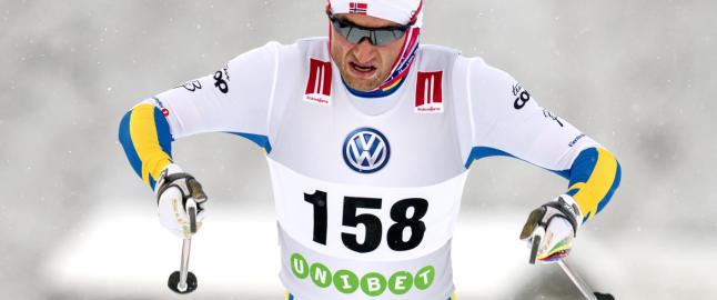 Snart jubler Petter for hver eneste svensk seier.