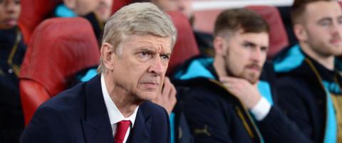 Wenger krysser fingra for et r�verkj�p i januar
