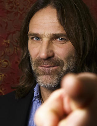 Christer Falck har samlet halve rockenorge til � feire Raga Rockers. Det  ble uten Varg Vikernes