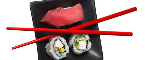 Bordskikk: Slik spiser du sushi