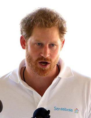 Prins Harry pratet om tomrommet etter morens d�d
