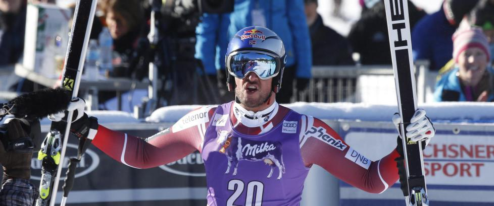 Aksel Lund Svindal klinte til med seier i verdenscup-comebacket