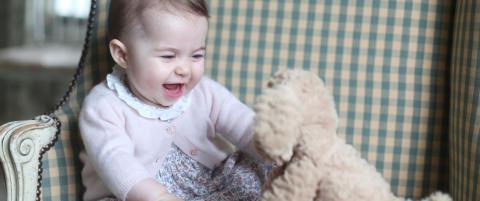 Sjekk prinsesse Charlotte - britenes nye sjarm�r