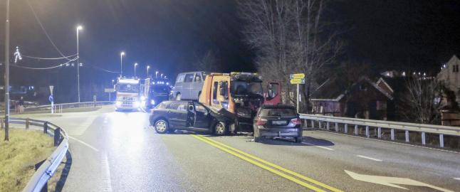 �n omkom i trafikkulykke i Vest-Agder