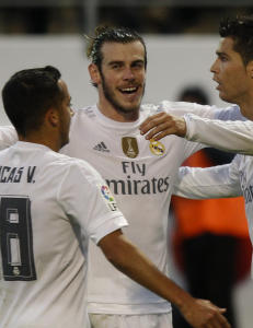 Bale endte m�lt�rken da Real Madrid slo Eibar