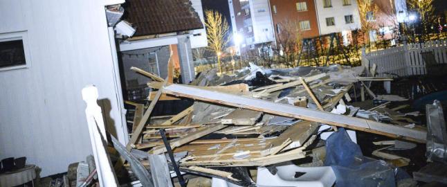 Orkanen �Gorm� lagde kaos i Danmark og Sverige, men Norge gikk klar