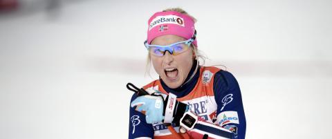 Johaug-bannere stjålet foran verdenscuphelgen på Lillehammer