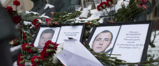 Har utlevert d�d russisk jagerflyger