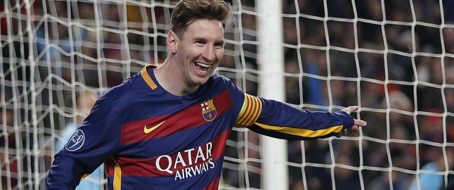 Messi slo Ronaldo i spansk k�ring