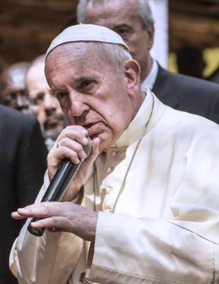Bildet av �hiphop-paven� tar fullstendig av p� nettet