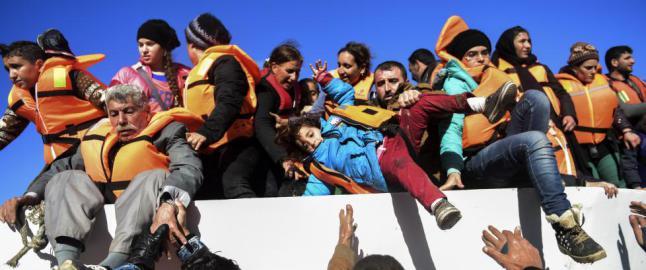 140 000 b�tflyktninger til Europa i november