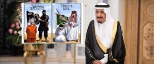 Saudi-Arabia truer med � saks�ke alle som sammenlikner dem med IS. Dette svarer verden