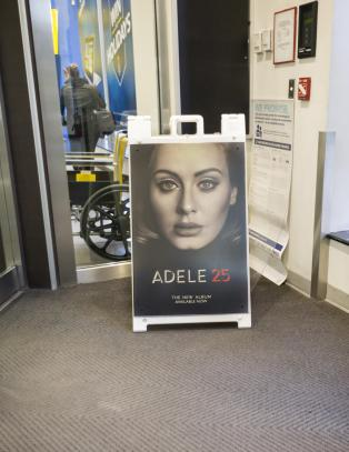 Adele vil ikke dele