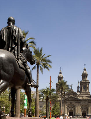 Hvilken hovedstad ligger nærmest fjellet Aconcagua?