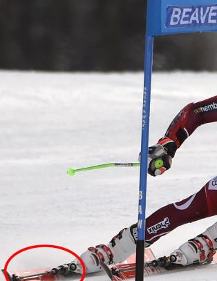 Hva har du p� skiene, Kristoffersen?