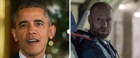 Aksel Hennie-film er Obamas 2015-favoritt