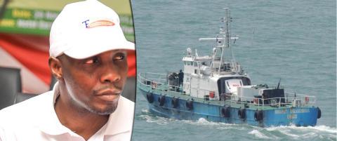 Nigerianske �kokrim ber krigsherren med norske marinefart�y melde seg