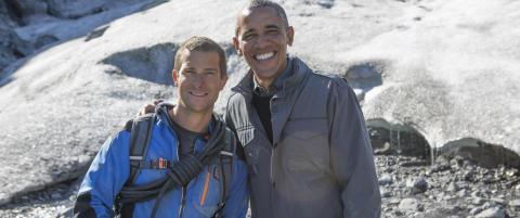 Obama spurt om å drikke urin i uvanlig intervju