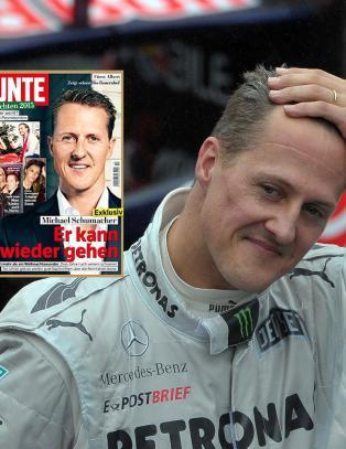 Sl�r tilbake mot magasin som hevder Schumacher kan g� igjen: - Uansvarlige spekulasjoner