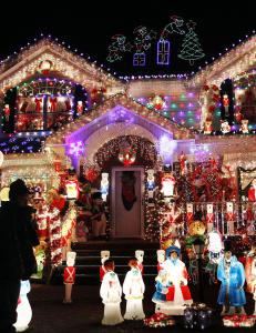 USAs julelys bruker mer energi enn et utviklingsland