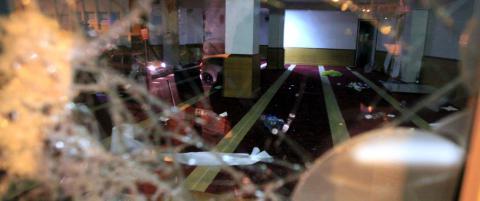 Rasende demonstranter plyndret og vandaliserte mosk� p� Korsika