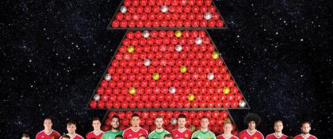 Manchester United ville ønske god jul på Twitter. Fikk bøtter av tyn tilbake
