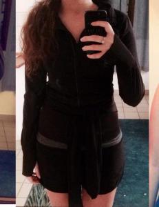 Imen (18) ble nektet � trene fordi hun hadde for kort shorts