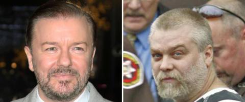Gervais mener mord-dokumentar fra Netflix bør få Nobelpris