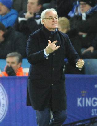 �Leicester tar en av de fire CL-plassene�