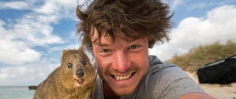 Tar Allan (29) verdens s�teste selfier?