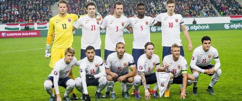 Starter oppkj�ringa til VM-kvaliken med kamper mot Finland og Estland