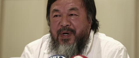 Ai Weiwei på motets vei