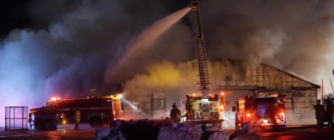 Dyretragedie: Her brenner 44 travhester inne