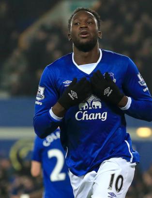 Lukaku headet Everton et hakk n�rmere dr�mmefinale mot Liverpool