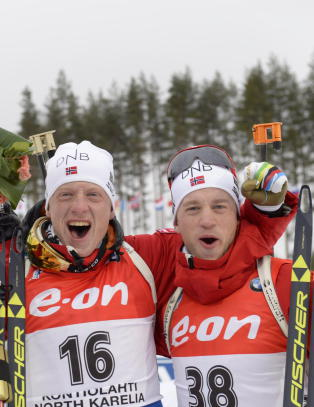 Trippel norsk i Ruhpholding