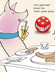 Anmeldelse: �Godtegrisen� som heller ville spise p�lse enn � bli stek