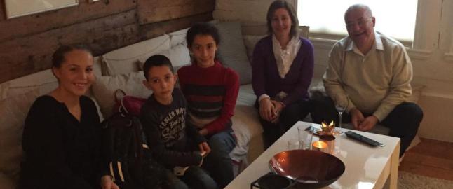 Norsk landslagsspiller inviterte flyktningfamilie hjem i jula