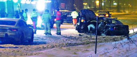 Etterlyser f�rer av m�rk bil etter ulykken der Tom (16) ble drept