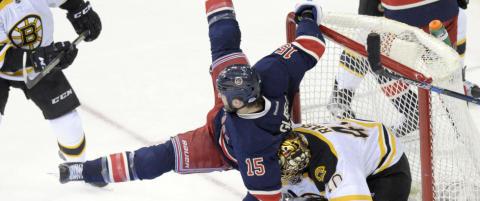 Rangers vendte til seier over Bruins
