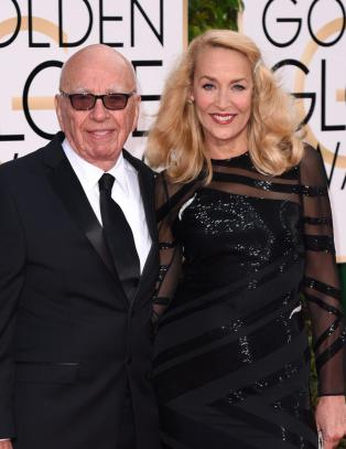 Jerry Hall (59) og Rupert Murdoch (84) er forlovet