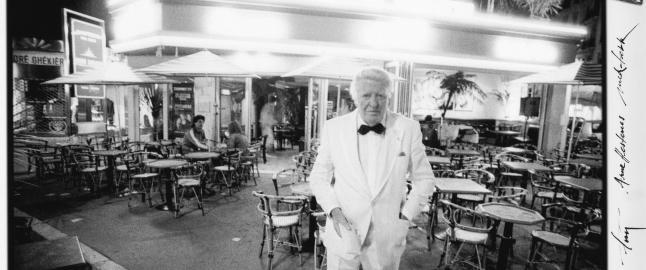 Da Arne Hestenes m�tte David Bowie i Cannes
