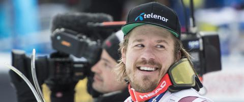 For f�rste gang i historien er det feil at Kjetil Jansrud vinner et skirenn