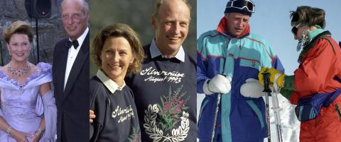 25 år med kongeparet - i bilder