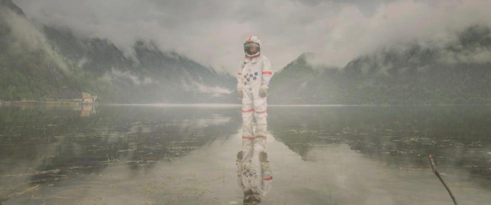 Ole Marius dro på «romtur» i Norge - nå går bildene verden rundt