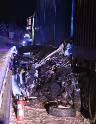 To personer d�de i m�teulykke i Buskerud