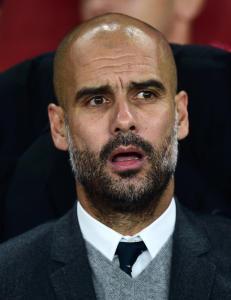 Tilbakeviser at Guardiola m�tte United. Dette er grunnen til at han ikke har skrevet under for City