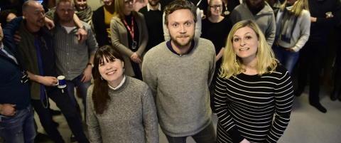Tre nye redaktører i Dagbladet